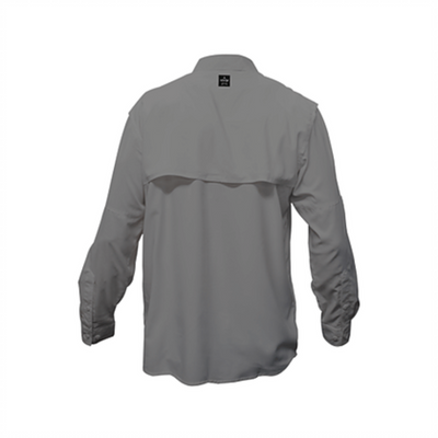 Frio Long Sleeve Fishing Shirt-Charcoal - Frio Ice Chests