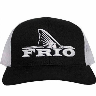 Frio Redfish Adjustable Cap- White MeshFrio Pacific Headwear- Black & White Mesh - Frio Ice Chests