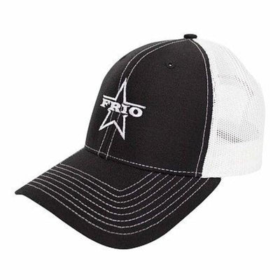 Frio White Mesh Black Cap - Frio Ice Chests