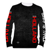 Kevin Holland Performance Long Sleeve Shirt- Black