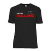 Kevin Holland Short Sleeve  Shirt- Black