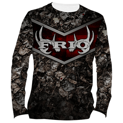 Frio Performance L/S Fishing Shirt w/ Deer Art