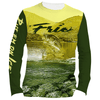 Frio Performance L/S Fishing Shirt w/ Freshwater Art