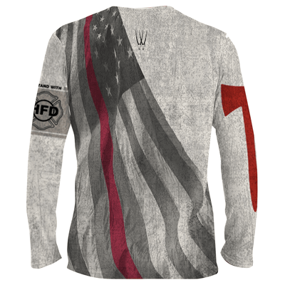 Frio Performance L/S Shirt- WTO I Stand with HFD