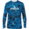Frio Red Long Sleeve Design - Mossy Oak Agua