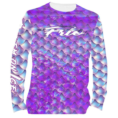 Frio Performance L/S Fishing Shirt w/ Mermaid Theme