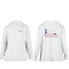 Solar Performance Hoodie - White/ Lone Star