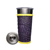 Frio 24-7 Cup w/ Bottle Opener w/ Leather Wrap- Louisiana Gator - Frio Ice Chests