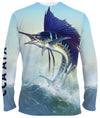 CCA ATX Performance Long Sleeve Shirt - Sailfish