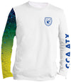 CCA ATX Performance Long Sleeve Shirt - Mahi