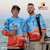 Frio Performance L/S Fishing Shirt w/ Saltwater Art