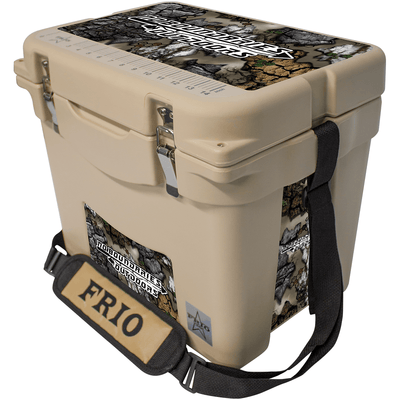 Frio 25 Qt w/ 5 Panel 3M Vinyl Treezyn No Boundaries Outdoors Theme