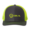 Frio Richardson 112 Neon Yellow Mesh Cap - BIA