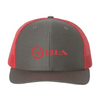 Frio Richardson 112 Red Mesh Cap - BIA