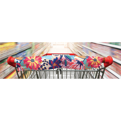 Frio Shopping Cart Cover - Flower