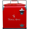 Frio Retro w/ Red Powder Coat w/ Laser Engraved Tropical Maniac Logo