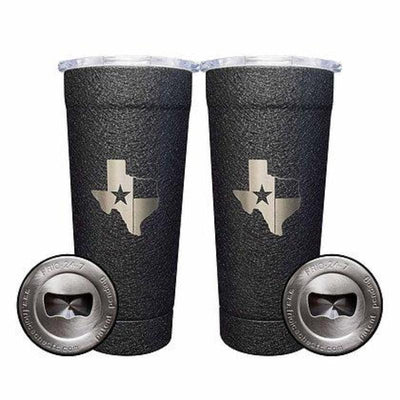 Texas Two Pack- Splatter Black - Frio Ice Chests