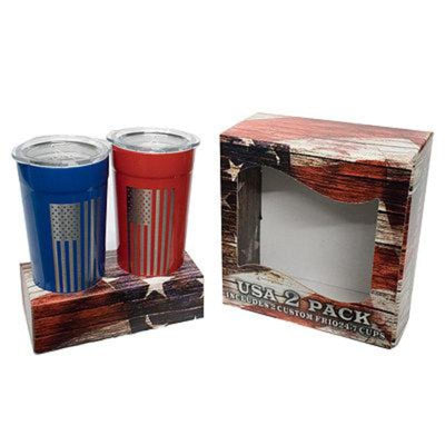 USA 2 Pack- Red/ Blue Combo - Frio Ice Chests