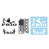 Frio Large Decals - 5 Pack