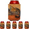 Frio Can Beverage Hugger 6 Pack - Bull Red