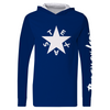 Blue Texas Star Performance L/S Performance Hoodie