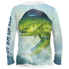 Frio Performance L/S Fishing Shirt w/ Mahi Mahi