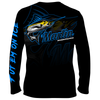 Frio Performance L/S Fishing Shirt w/ Neon Marlin