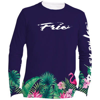Frio Ladies Long Sleeve Solar Shirt - Flamingo