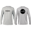 ESSX Solar Performance Long Sleeve Tee- Pearl Grey