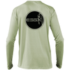ESSX Solar Performance Long Sleeve Tee- Sage