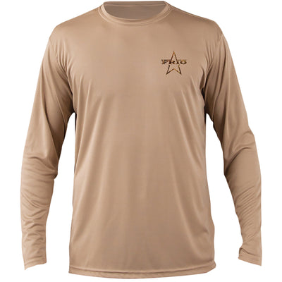 Frio Long Sleeve Buck - Tan - Frio Ice Chests