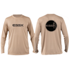 ESSX Solar Performance Long Sleeve Tee- Tan
