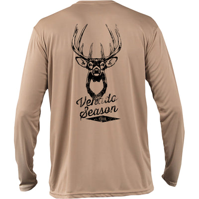 Frio Long Sleeve Venado Design - Tan - Frio Ice Chests
