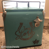 Custom Laser Engraved Retro Coolers