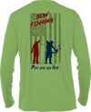 Frio Long Sleeve Shirt - Bowfishing USA Theme