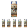 Frio Slim Can Beverage Hugger 6 Pack - Aztec