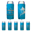 Frio Slim Can Beverage Hugger 6 Pack - Sailfish