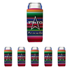 Frio Slim Can Beverage Hugger 6 Pack - Serape