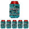 Frio Can Beverage Hugger 6 Pack - Turquoise Stone