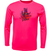 Frio Solar Performance LS - Neon Pink Pineapple Summer Vibes