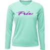 Frio Trout Ladies Long Sleeve - Seafoam