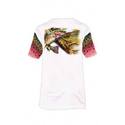 Frio Performance S/S Fishing Shirt w/ Trout Art