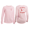 BAPVA Long Sleeve Tee- Pink - Frio Ice Chests