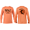 Bolt Volleyball Long Sleeve Tee- Citrus