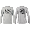 Bolt Volleyball Long Sleeve Tee- Pearl Grey