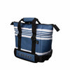 Frio 9 Can Cooler - White Stripe - Frio Ice Chests