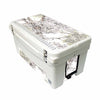 Frio 65 Qt White w/ 5 Panel 3M Vinyl King's Camo Snow Theme - Frio Ice Chests