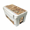 Frio 65 Qt White w/ 5 Panel 3M Vinyl King's Camo Field Theme - Frio Ice Chests