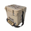 Frio 25 Qt White w/ 5 Panel 3M Vinyl King's Camo Desert Theme - Frio Ice Chests