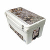 Frio 65 Qt White w/ 5 Panel 3M Vinyl King's Camo Desert Theme - Frio Ice Chests